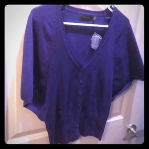 The Limited Short Sleeve Cardigan, NWT,S
